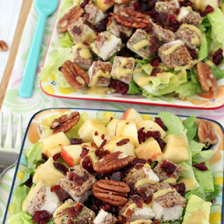 Pecan Chicken Salad with Apples & Bacon
