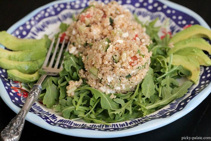 Quinoa Tabbouleh Arugula Salad Recipe | Yummly