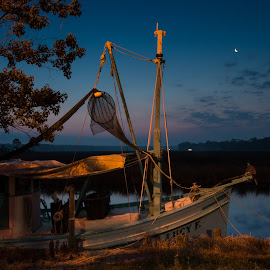 Good Morning, Lucy by Ron Maxie - Transportation Boats