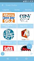 Screenshot of Greek Radios