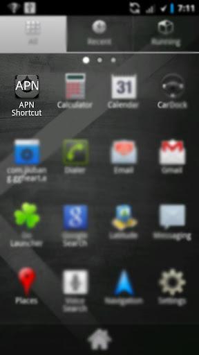 APN Shortcut