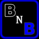 Black-N-Blue Go Launcher Theme icon