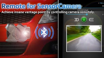 Screenshot of Remote for Sensor Camera
