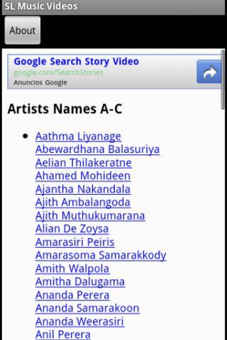 Srilankan Music Videos