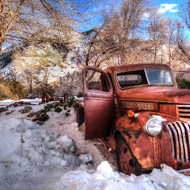 Long Forgotten by John Stinnett - Transportation Automobiles