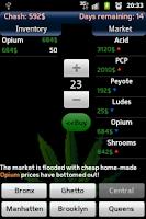 Screenshot of Dope Wars