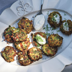 Zucchini Keftedes with Feta and Dill