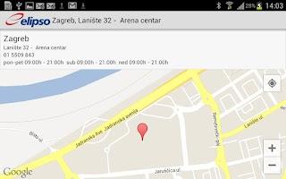 Screenshot of elipso.hr