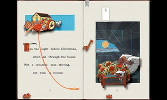 Screenshot of PopOut! Night Before Christmas