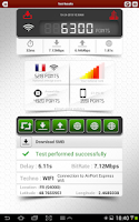 Screenshot of 4Gmark (3G / 4G speed test)
