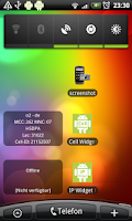Screenshot of Cell Widget