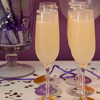 Fresh-Pear Bellinis