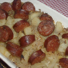 Grandpa's Sauerkraut and Kielbasa