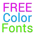 Color Fonts for FlipFont #1 3.16.1 Apk
