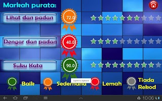 Screenshot of Belajar Suku Kata