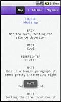 Screenshot of Line Please - Acting Tool