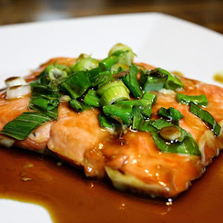 Salmon With Soy Sauce And Maple Syrup Recipes