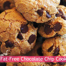 Almost Fat-Free Chocolate Chip Cookie