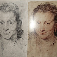 Copy of Rubens Drawing of wife