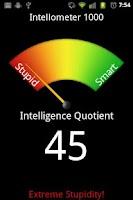 Screenshot of Stupid Meter