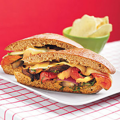 Roasted Vegetable Hero Sandwiches