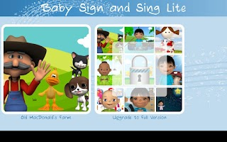 Screenshot of Baby Sign and Sing Lite