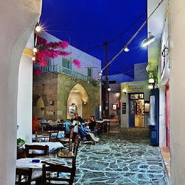 Plaka, Milos island, Greece by Theofilos Savvakis - Landscapes Travel