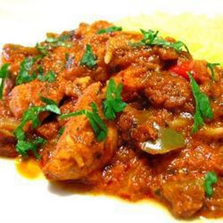 Slow Cooked Chicken Jalfrezi