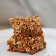 Oatmeal Streusel Blondies
