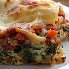 Meat Lover's Vegetarian Lasagna