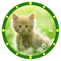 GORGEOUS KITTEN Analog Clock icon