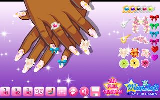 Screenshot of Manicure Designer Lite
