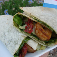Mediterranean Shrimp Wraps