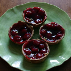 Cherry Pie Cups  (2 Ingredients)