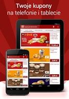 Screenshot of Kupony do McDonalds