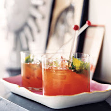 Bourbon and Blood Orange Blast