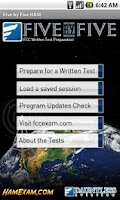 Screenshot of FCC Ham Radio Test Prep