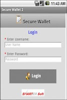 Screenshot of Secure Wallet - Paid