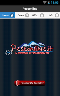 Pesconline - screenshot