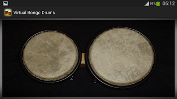 Screenshot of Virtual Bongo Drum