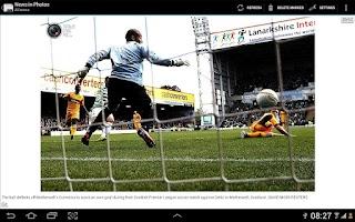 Screenshot of News in Photos