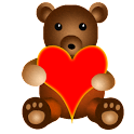Teddy Bear Battery Widget icon