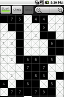 Screenshot of FillDoku