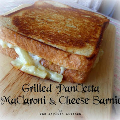 Grilled Pancetta, Mac & Cheese Sarnies