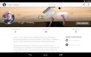 Screenshot of Booktrack
