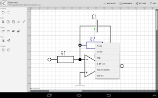 Screenshot of Schematic