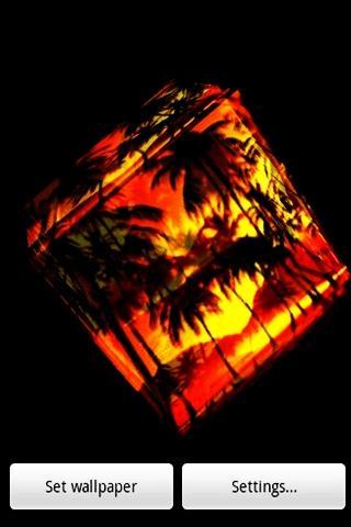 3D可愛的椰子