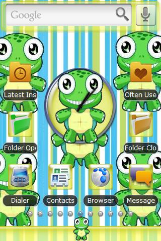Turtle Stripes Theme