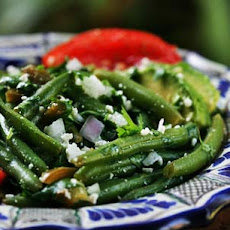 Mexican Green Bean Salad