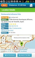 Screenshot of Tenerife Guide Map & Weather
